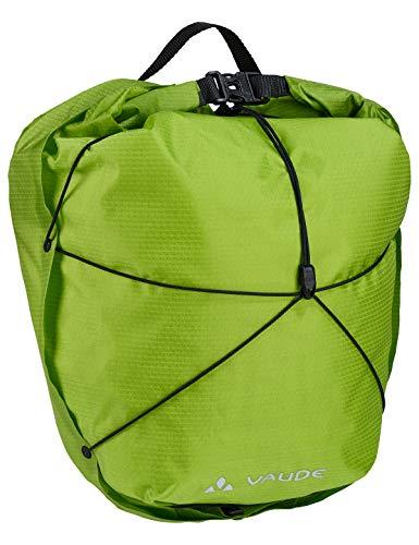VAUDE Vorderradtaschen Aqua Front Light, Ultraleichte Vorderradtasche zum Radfahren, chute green, one Size, 129514590