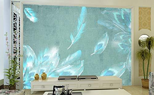 SKTYEE Efecto 3D foto de moda moderno papel de pared sala de...