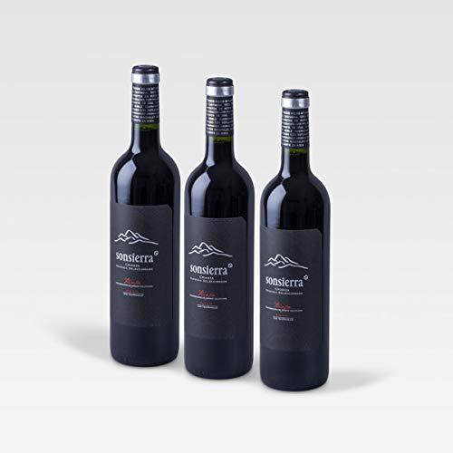 Pack 3 bot. Sonsierra Vendimia Seleccionada 2015, Vino Tinto, DOCa Rioja, España