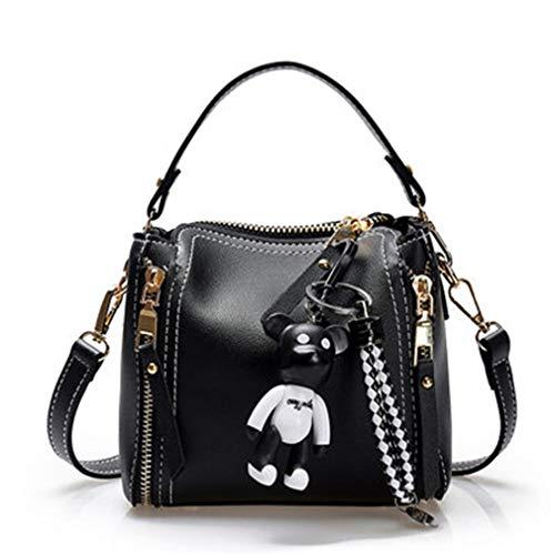Borsa a tracolla per borsa da donna Black 22cm12cm20cm