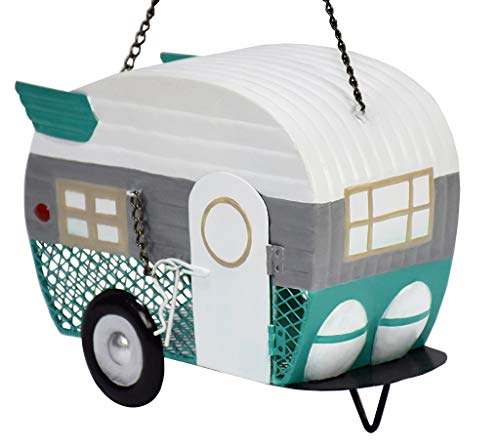 Outside Inside 99811 Camper Trailer Mesh Home and Garden WildBirdfeeders 675quot by 9quot by 4quot Multi