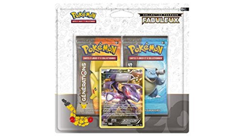 Pack 2 boosters Pokémon + Carte promo Genesect - XY - Générations