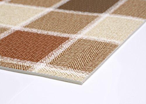 Weichschaum Bodenbelag Küchenläufer Terramat Antirutsch Matte für Boden Matte Küche, Karotex, Größe wählbar (120 x 60 cm)
