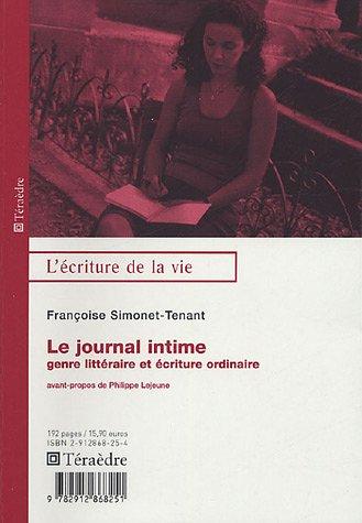 Le journal intime : Genre littéraire ou écriture ordinaire