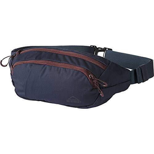 McKINLEY Basic Cinturón, Unisex Adulto, Azul Marino/Rojo, Size