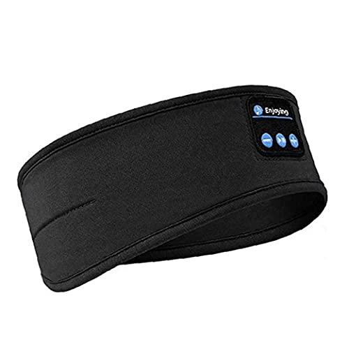 Bluetooth Headeband Wireless Sports Sleep Auriculares Diadema para jogging caminar Yoga Durmiendo herramientas negras gratis