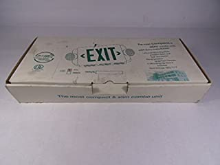 Energy Star Exit & Emergency Sign