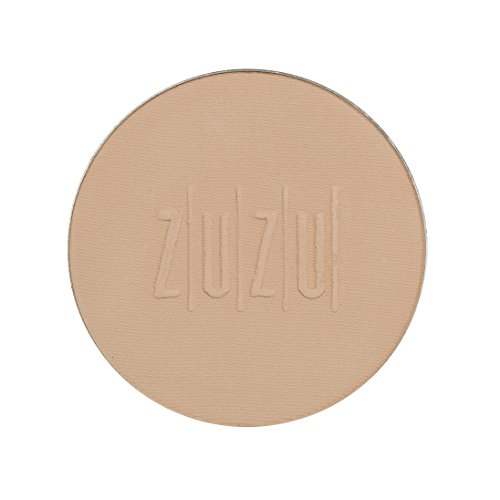 ZUZU LUXE Dual Powder Foundation Refills (D -17 Refill)0.32 oz,Pressed mineral powder, medium to full coverage, natural finish. Natural, Paraben Free, Vegan, Gluten-free, Cruelty-free, Non GMO.