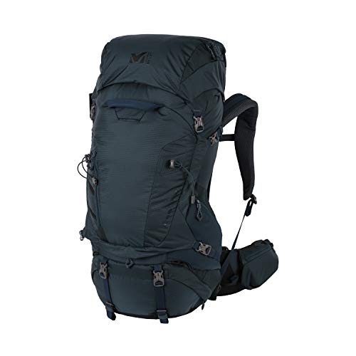 Millet – Hanang 65+10 – Sac à Dos pour Homme et Femme – Randonnée et Trekking – Volume Extensible 65+10 L – Orion Blue (Bleu Marine)