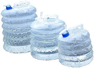 VISZC Seau Pliable, seaux d'eau Pliables en Silicone Robustes de capacité, Sac d'eau de Rangement pour Les Voyages de rand...