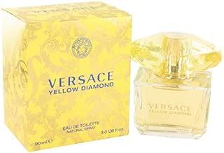 Versace Yellow Diamond by Versace Women's Eau De Toilette Spray 3 oz - 100% Authentic