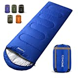 COHOME Sleeping Bag - Adults & Kids Warm and Cold Weather Lightweight Waterproof Camping Backpacking Hiking Outdoor & Indoor Use Bag with Compression Sack.