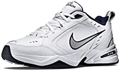 NIKE SHOES MEN: The Nike Air Monarch IV (4E) Training Shoe for Men sets you up for a comfortable training session with durable leather on top for support. DURABLE LEATHER: Men's sneakers are made with leather upper features for durability and support...