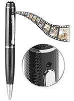 Sieht aus wie ein gewöhnlicher Stift • Mikrofon für Aufnahmen mit Ton • Auch ideal als USB-Speicherstick Kugelschreiber-Videokamera DV-900.fhd • Speicherbedarf: ca. 135 MB pro Minute Video, 3 MB pro Foto • Einfache Bedienung mit 1 Taste • Steckplatz ...