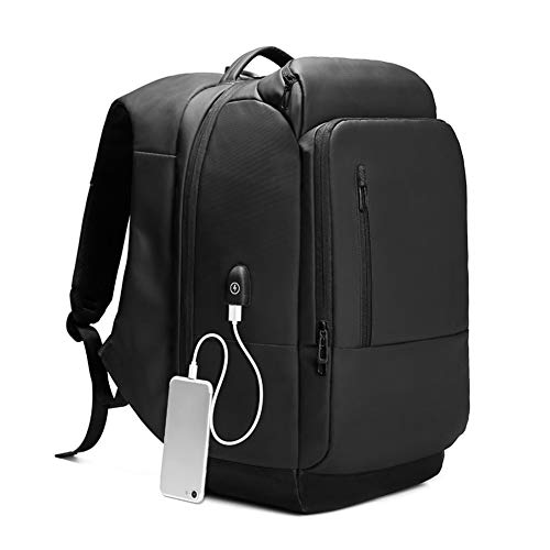 lzndeal Sac à Dos Fonctionnel imperméable pour Homme Sac à Dos Portable de Voyage avec Port USB Sac de Voyage