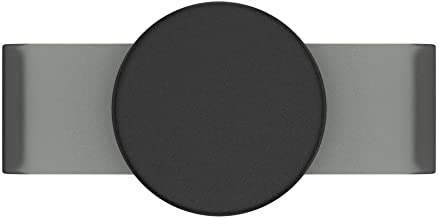 PopSockets PopGrip Slide for iPhone X and XS Apple Silicone Case - Black Haze