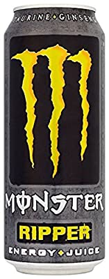 Monster Ripper Energy Plus Juice Can 500 Ml (pack Of 12)