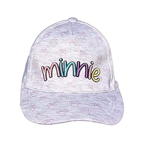 Nueva Gorra para niñas Minnie Mouse con Visera/Ideal para Playa, excursiones al Aire...