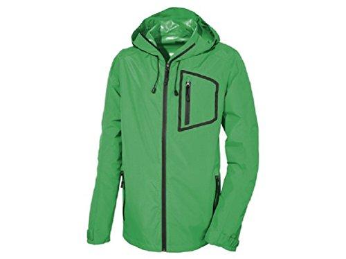 Chaqueta de trekking para hombre, chaqueta funcional al aire libre. - Verde - 38