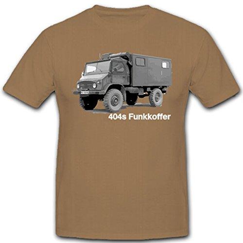 404s draadloze koffer vrachtwagen radiator voertuig terreinwagen oldtimer - T-shirt #9111