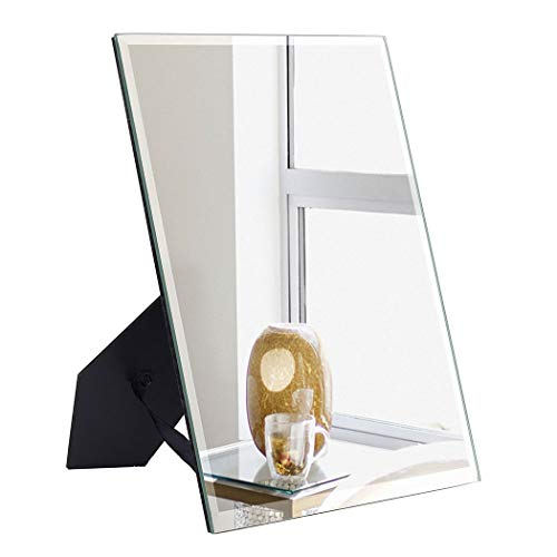ANDY STAR Small Desk Mirror for Makeup, 7x9-Inch Mirror for Wall, Narrow -