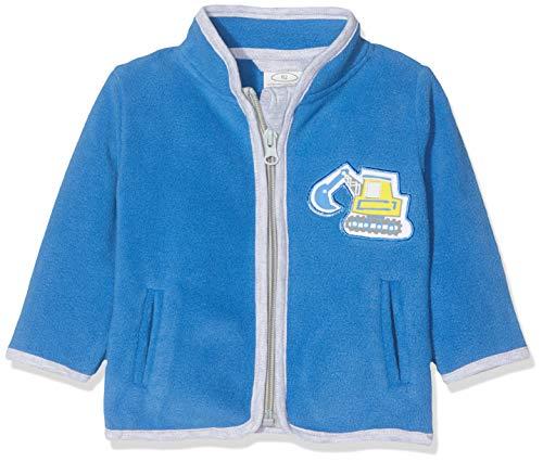 Schnizler Schnizler Baby-Jungen Fleece Bagger Jacke, Blau (Blau 7), 62