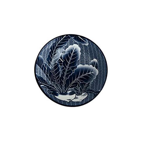 CJH schotel creatief blauwe reddings-keramiek servies, het hoofdbord van de kom, platte kom, nachtkastje, kleine kom eet
