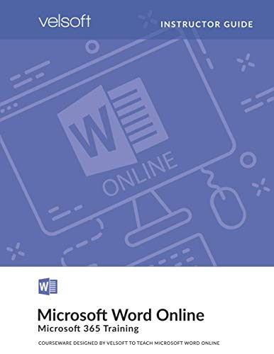 Microsoft Word Online (INSTRUCTOR GUIDE) (Microsoft Online)