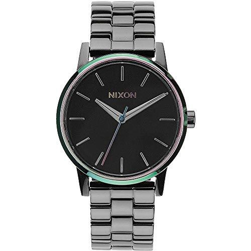 NIXON Reloj Analógico para Mujer de Cuarzo con Correa en Acero Inoxidable A361-1698-00