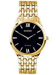 Band Colour Gold Band Width 20 Dial Colour Black Water Resistant Up To 50M 2 Years Manufacturer Guarantee