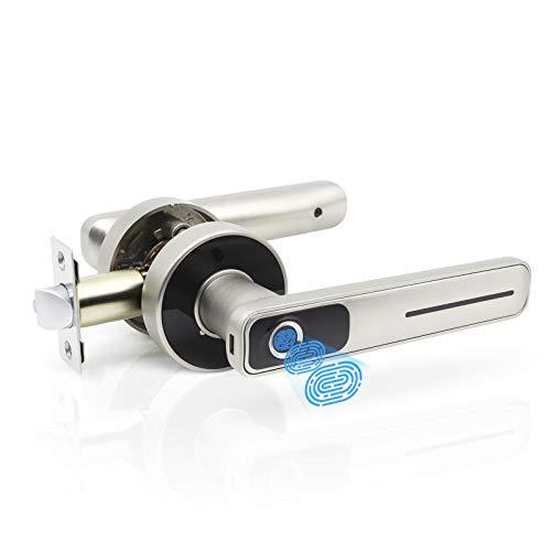 Geek Smart Fingerprint Door Lock - Biometric Door Knob...