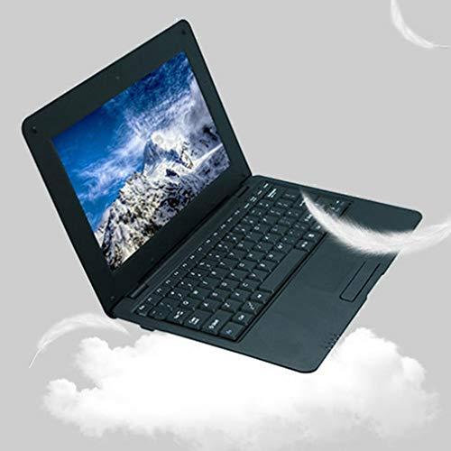 Dpatleten 10-Zoll-Aktionen Quad-Core S500 Laptop Netbook 1 + 8G Tragbares Notebook Laptop, Sehr Kostengünstig, Leicht, geeignet für Büroangestellte & Studenten,EU(Schwarz)