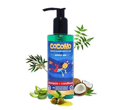 Cocomo Natural Neem & Tea Tree Oil Kids Shampoo & Conditioner (200ml)