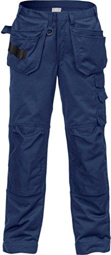 Fristads Kansas Workwear 121223 Arbeitshose D116 (114,3 cm Taillenumfang/32 Beine) Dark Navy