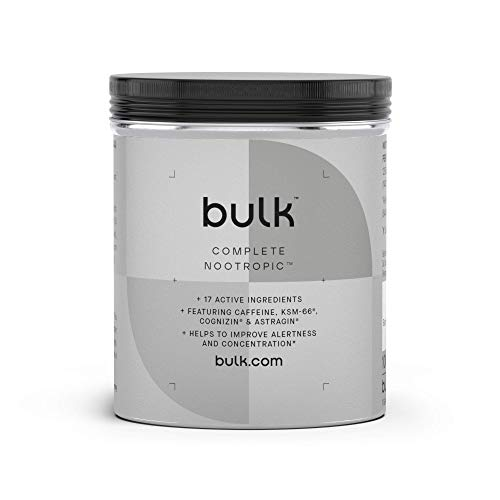 BULK POWDERS Complete Nootropic Capsules, Pack of 180