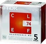 Media TDK MD CLEF 74分5枚パック MD-CL74X5N