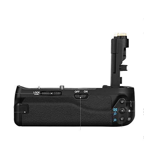 Pixel BG-E21 Batteriegriff Kameragriff Multifunktion für Canon EOS Digital SLR 6D II Kemera E21 LP-E6 LP-E6N(Ersatz für Canon BG-E21)