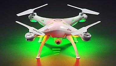 Hero RC XQ6 4 Ch 6-Axis Headless RC Quadcopter Drone RTF 2.4Ghz w/ HD Camera + 3 Batteries + 2 Set Blade + 4GB Memory Card (White)