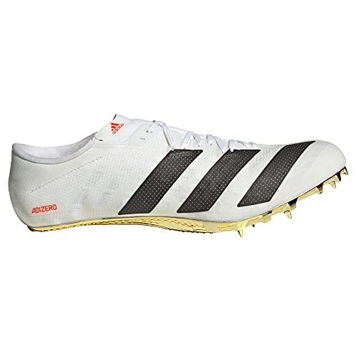 adidas Adizero Prime SP, Zapatillas de Atletismo Unisex Adulto, FTWBLA/NEGBÁS/Rojsol, 40 2/3 EU