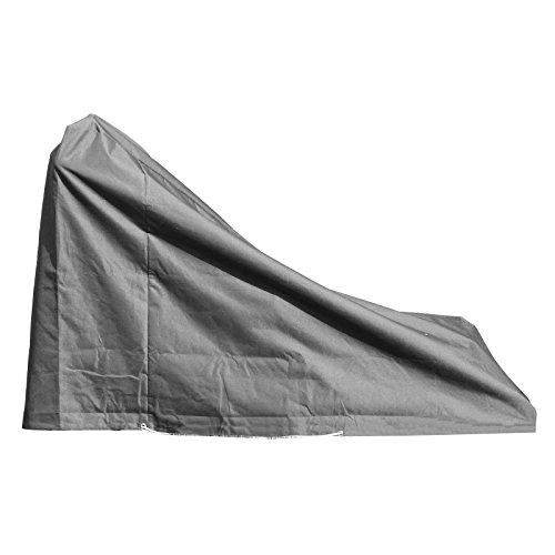 Housse de protection pour tondeuse Haute qualité polyester L 190 x l 80 x h 110/40 cm couleur anthracite