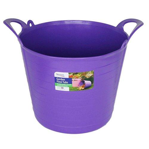 Stewart - Vaso da Fiori Flessibile, 26 Litri, Colore: Viola