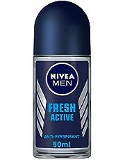 NIVEA, MEN, Deodorant, Fresh Active, Roll-On, 50ml