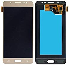 Skyline TFT LCD Replacment for Samsung Galaxy J7 J700 J700H, Gold, Size No Size