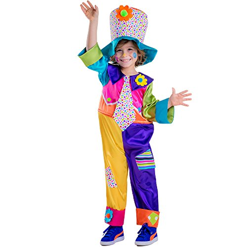 Dress Up America Disfraz de payaso de circo para niños
