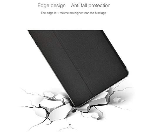 YGoal Hülle für Teclast P20HD, Premium PU Leder Ständer Leicht Folio Case Cover für Teclast P20HD/Teclast P20 10 Zoll Tablet, Schwarz