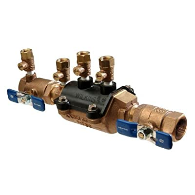 """Wilkins 1-350 Double Check Valve Assembly FNPT x FNPT Composite Vessel, 1"""" by Wilkins"""