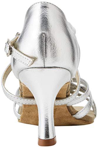 So Danca Damen Bl164 Standard-& Latintanzschuhe, Silber Silver, 37 EU - 3