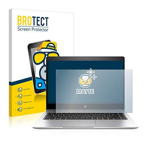 BROTECT Entspiegelungs-Schutzfolie kompatibel mit HP EliteBook 840 G6 Bildschirmschutz-Folie Matt, Anti-Reflex, Anti-Fingerprint
