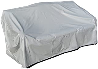 Protective Covers Weatherproof 3 Seat Wicker/Rattan Sofa Cover, Large, Gray - 1127