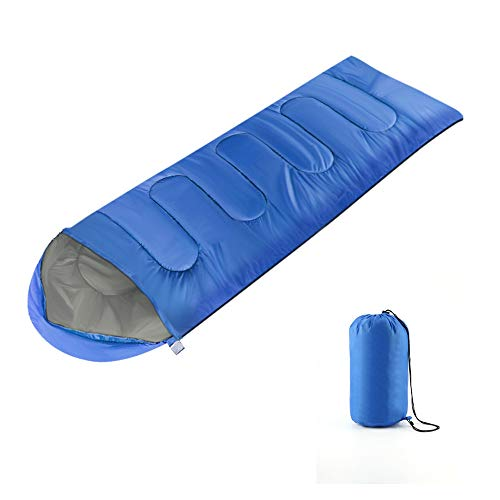 AllRight 3-4 Season Waterproof Camping Bags Hiking Sleeping Bag Blue